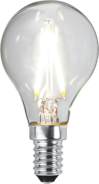LED Tropfenlampe FILA P45 - E14 - 2W - neutralweiss 4000K - 270lm - klar