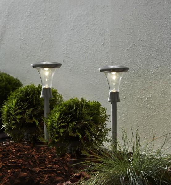 "LED Solar Wegleuchte ""Turin"" - warmweiße LED"