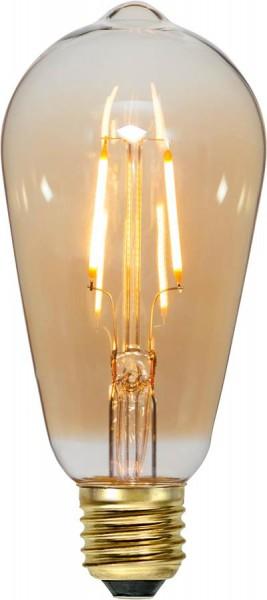LED Leuchtmittel FILA GLOW ST64 - E27 - 0,75W - ultra-WW 2000K - 80lm - amber