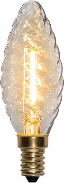 LED Kerzenlampe FILA GLOW - TC35 - E14 - 0,8W - warmweiss 2100K - 70lm - Zapfen