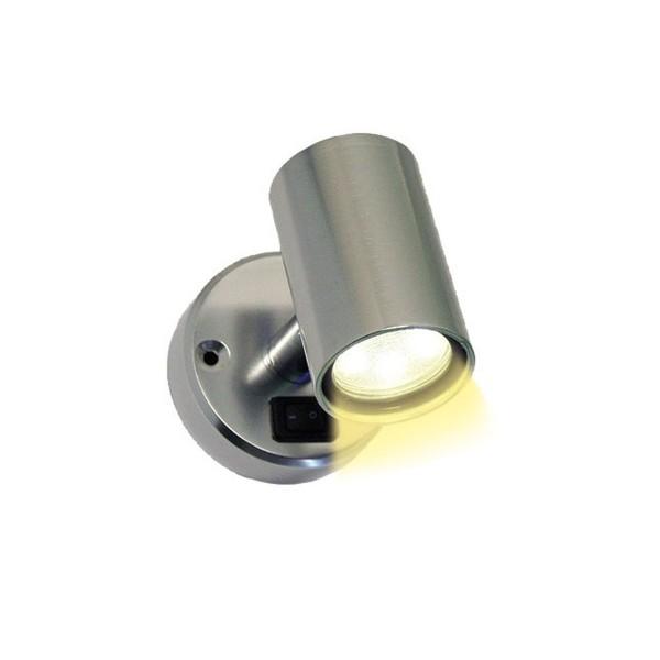 LED Spot MiniTube 12V LED - 1,4W - 18x SMD LED, warmweiß - Ein/Ausschalter