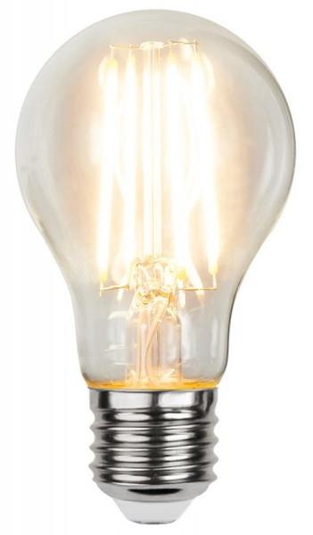 LED Tropfenlampe FILA A60 - E27 - 6,5W - WW 2700K - 810lm - klar - dimmbar