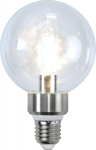 LED GLOBElampe CRYSTAL G95 - 5W - E27 - warmweiss 2700K - 420lm - dimmbar
