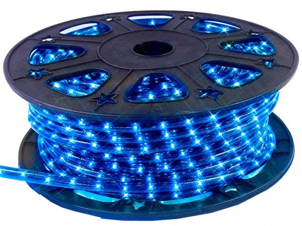 Lichtschlauch ROPELIGHT MICRO   Outdoor   1620 Lampen   45,00m   Kürzbar - blau