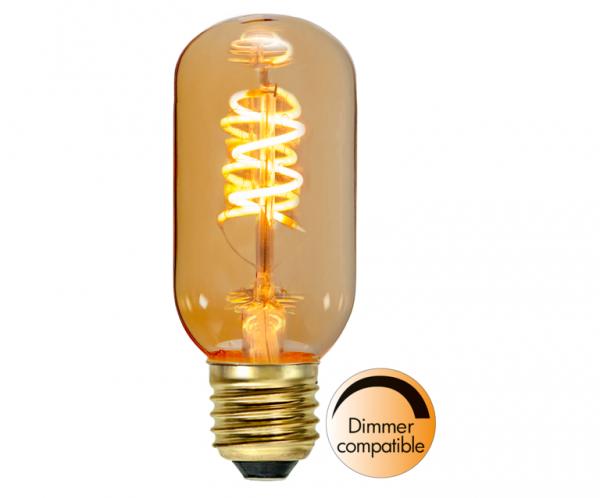 LED DEKO Leuchtmittel FLEXIFILA T45 - E27 - 2W - WW 2000K - 90lm - dimmbar