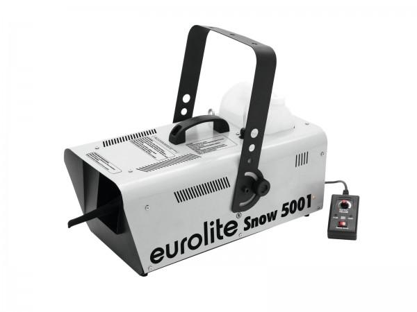 Schneemaschine Snow 5001 - 1500W - mit Fernbedienung - Ausstoß regelbar - Für Kunstschnee
