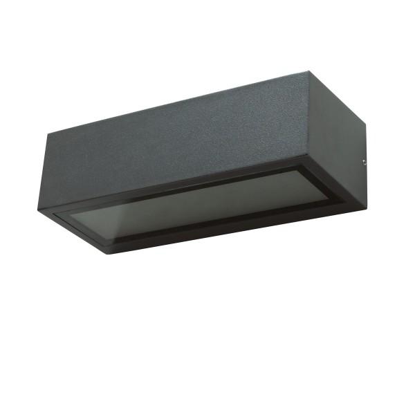 Wandleuchte MADURA - für E27 Leuchtmittel - max 10W LED - anthrazit - IP54 - up & down