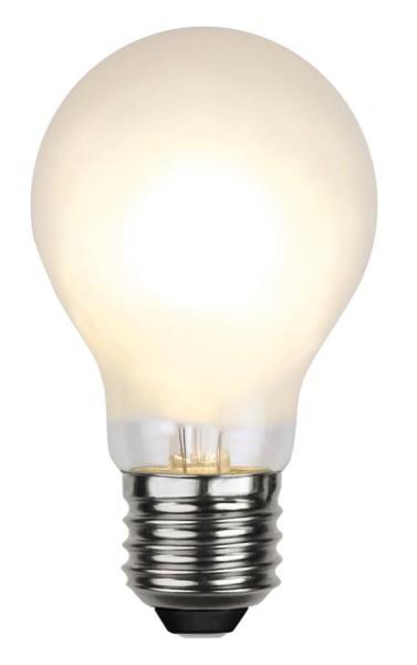 LED Tropfenlampe FILA A60 - E27 - 4,7W - WW 2700K - 500lm - gefrostet - dimmbar