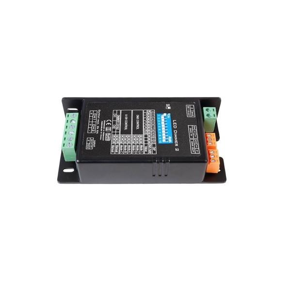 KAPEGO LED Dimmer 2 - 1-2 Kanäle - 12/24V - DMX/0-10V/Auto/Manuell