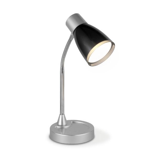 Schreibtischlampe LED Leselampe LUMY - schwarz - 28cm - 270Lm - 3000K