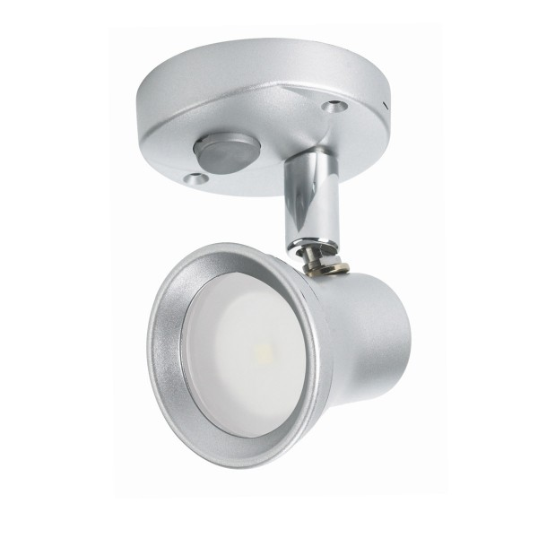 LED Aufbauspot L19TM - 8-16V - 3250K - 100lm - 1W - Schalter - austauschbares G4 Leuchtmittel
