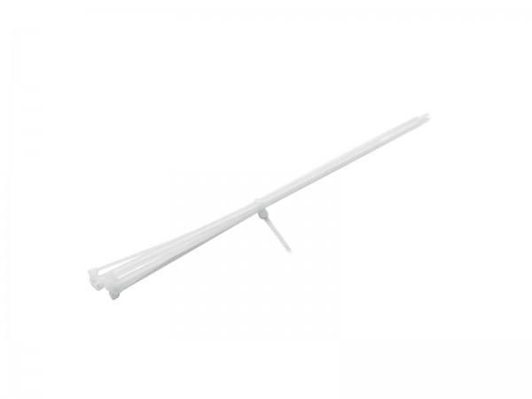 Kabelbinder 450x4,8mm weiß 100x