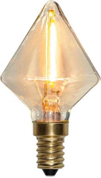 LED DEKO Leuchtmittel DIAMANT - E14 - 0,8W - warmweiss 2200K - 45lm - dimmbar