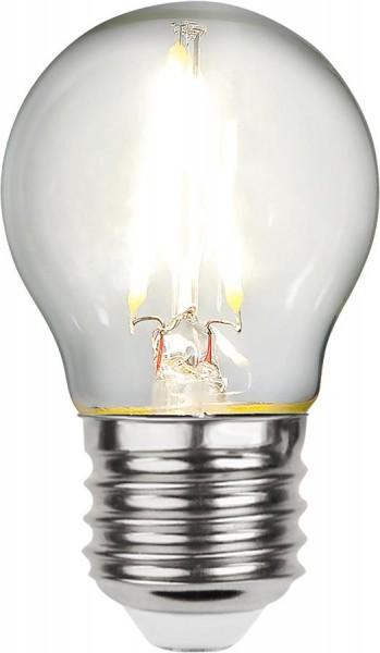 LED Tropfenlampe FILA G45 - E27 - 2,3W - neutralweiss 4000K - 270lm - klar