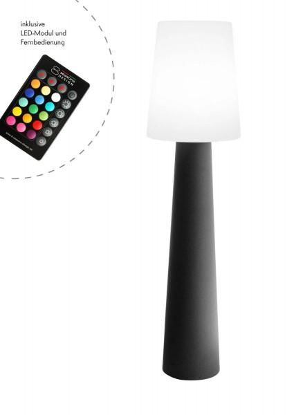"""Outdoor XL Stehlampe No. 1 """"Anthrazit"""" H:160cm - LED Modul - Außenleuchte IP44"""