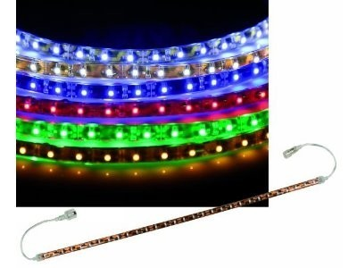 LED-Stripe - Verlängerung - selbstklebend  - 0,25m - 15 SMD-LEDs - Rot