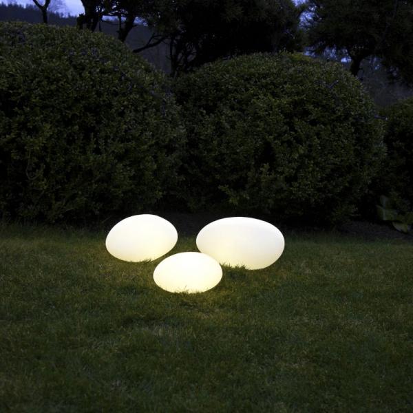 "LED-Stein ""Twilights"" - 26,5x13,5x20cm - RGB Wechsel/feste Farbe - Fernbedienung - Aufladbar - IP44 2"