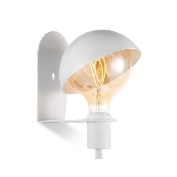 Wandlampe DYNA weiß - E27 - beweglicher Schirm