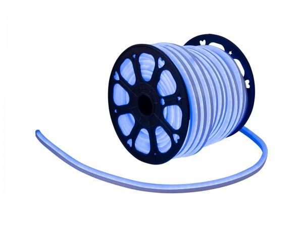 LED Lichtschlauch NEON FLEX 230V Slim - BLAU - 100cm Zuschnitt - Anfertigung nach Mass