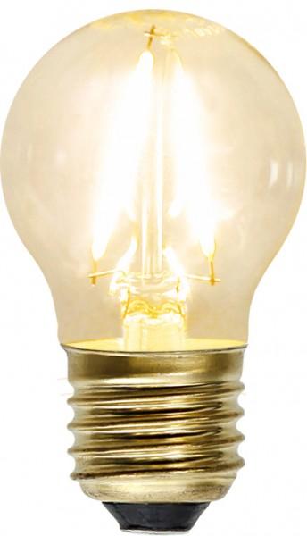 LED Leuchtmittel FILA GLOW - G45 - E27 - 1,5W - warmweiss 2100K - 120lm - klar