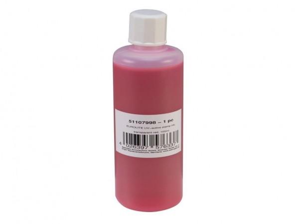 UV -aktive Stempelfarbe - transparent rot - 100ml