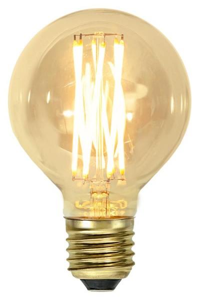 LED DEKO Leuchtmittel VINTAGE G80 - E27 - 3,7W - UWW 1800K - 240lm - dimmbar