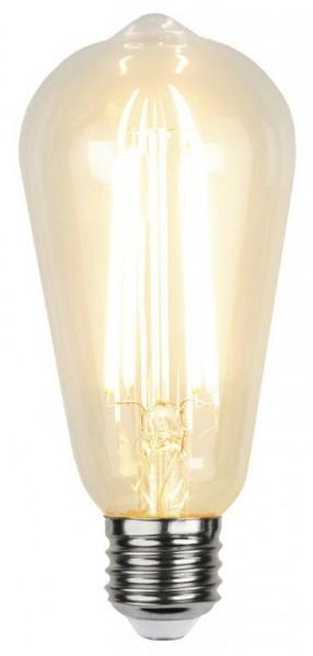 LED Leuchtmittel FILA SENSOR ST64 - E27 - 4,2W - ultra-WW 2100K - 330lm - klar