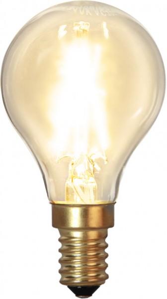 LED Leuchtmittel FILA GLOW - P45 - E14 - 1,5W - WW 2100K - 120lm
