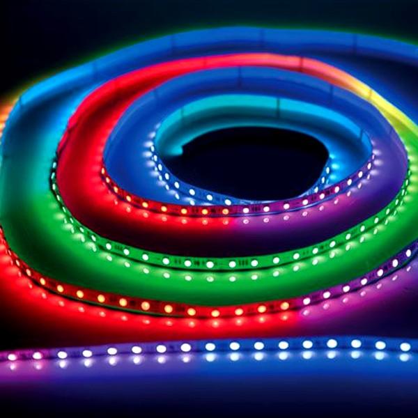 LED Pixel Stripe - 5 m pixelgesteuertes LED Lichtband - 24V - SPI Ansteuerung - indoor