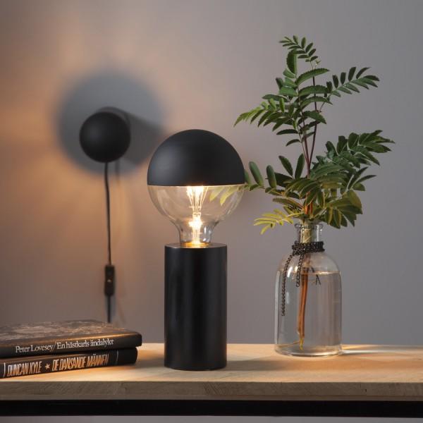 """Lampenfassung """"Tub"""" - E27 Fassung - Schalter - H: 15cm - stehend"""