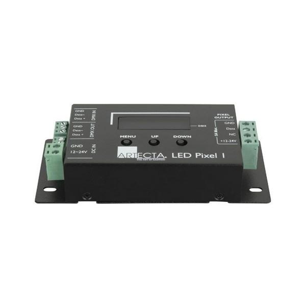 LED Pixel Controller 1 - LED PIXEL 1 - 12-24V - DMX zu SPI Konverter - Steuerung von LED Streifen