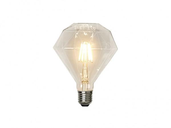 Leuchtmittel LED | Filament | Diamant | ?11,5cm x ?13,2cm | 3,2W | E27 | 2700K | 320 Lumen | Dimmbar