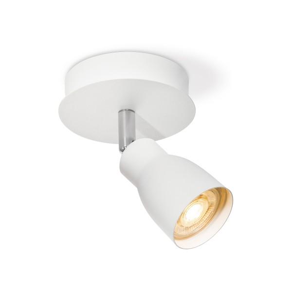 Deckenspot / Einzelstrahler ALBA weiß - inkl. GU10 LED Leuchtmittel