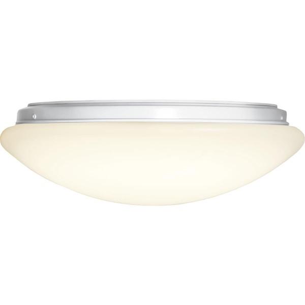 Deckenleuchte LED INTERGRA - D: 35cm - 18W - 40 warmweiße LED - 3000K - 1200lm - 120° - weiß