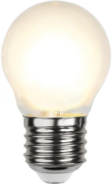 LED Kugellampe FILA G45 - E27 - 4W - WW 2700K - 450lm - gefrostet