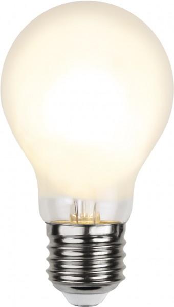 LED Tropfenlampe FILA A60 - E27 - 6,5W - WW 2700K - 810lm - gefrostet