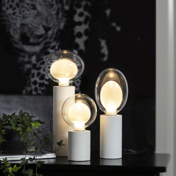 "LED Deko Leuchtmittel ""Space"" - E27 - warmweiß - in 3 Stuffen dimmbar - 2700K - 3,5W"