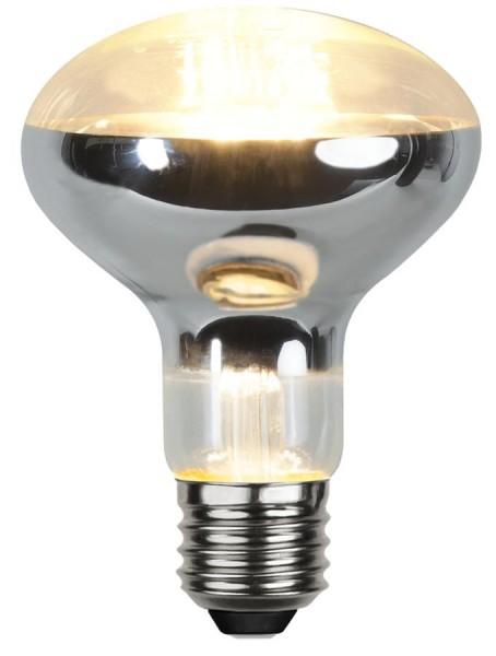 LED Leuchtmittel Reflektor FILA R80 - E27 - 7W - warmweiss 2700K - 650lm -  dimmbar