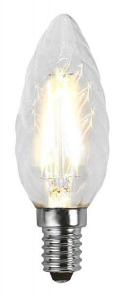 LED Kerzenlampe FILA TC35 - E14 - 2W - warmweiss 2700K - 250lm - klar