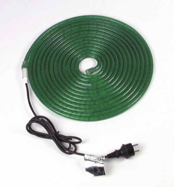 RUBBERLIGHT Lichtschlauch - Outdoor - RL1 - 180 Lampen - 5,00m - anschlussfertig - grün