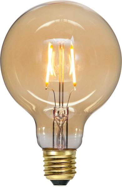 LED Leuchtmittel FILA GLOW G95 - E27 - 0,75W - ultra-WW 2000K - 80lm - amber