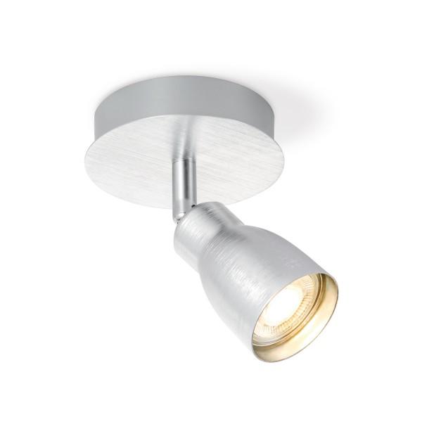 Deckenspot / Einzelstrahler ALBA aluminium - inkl. GU10 LED Leuchtmittel