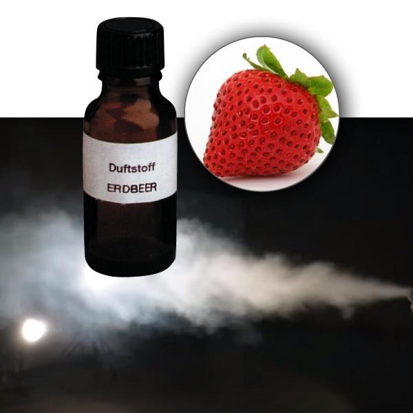 Duftstoff für Nebelfluid ERDBEERE - 20ml Flasche