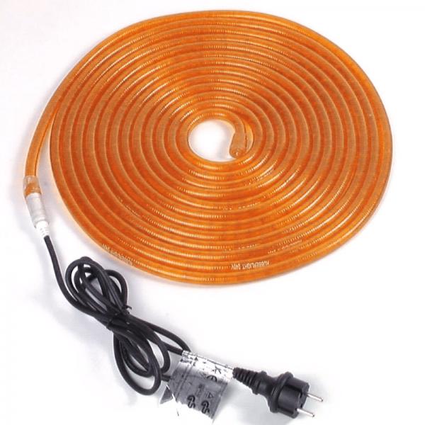 RUBBERLIGHT Lichtschlauch - Outdoor - RL1 - 180 Lampen - 5,00m - anschlussfertig - orange