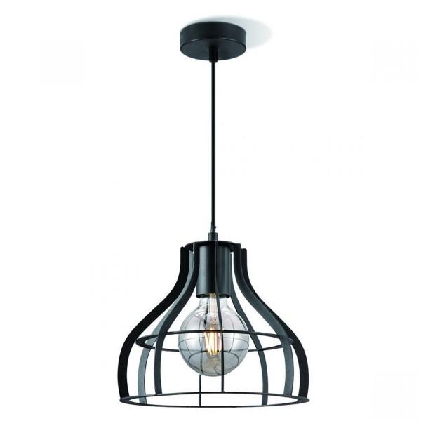 Deckenlampe BLANK 25cm - schwarz - E27