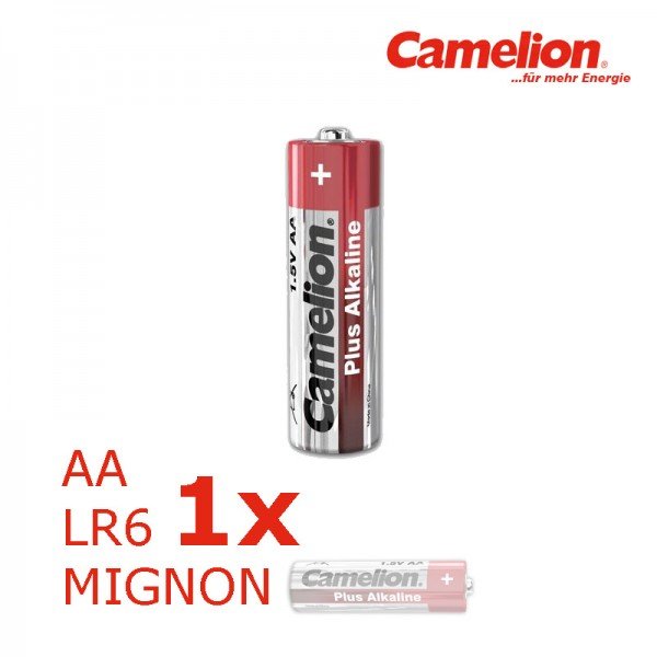 Batterie Mignon AA LR6 1,5V PLUS Alkaline - Leistung auf Dauer