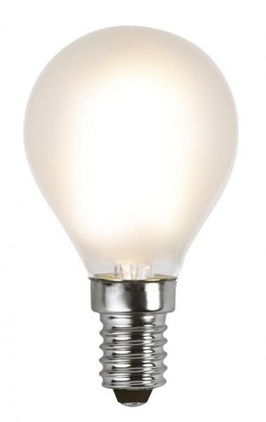LED Tropfenlampe FILA P45 - E14 - 1,5W - WW 2700K - 150lm - gefrostet