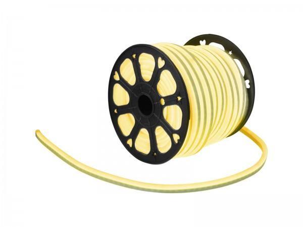 LED Lichtschlauch NEON FLEX 230V Slim - GELB - 50 Meter Rolle