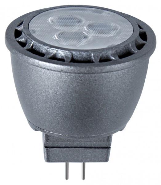 LED SPOTLIGHT MR11 - GU4 - 30° - 12V - 2,5W - warmweiss 2700K - 230lm
