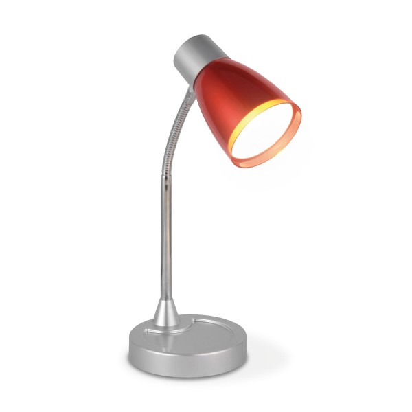Schreibtischlampe LED Leselampe LUMY - rot - 28cm - 270Lm - 3000K